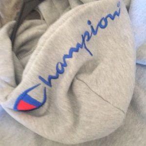 Supreme x champion jacket